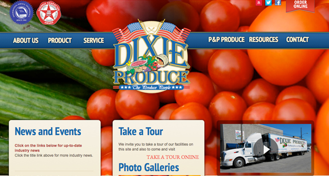 Dixie chattanooga web design iid