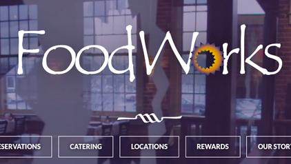 chattanooga web design foodworks
