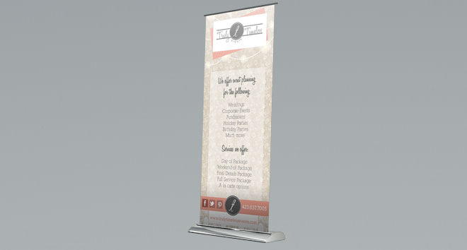 trulytimeless bannerstand